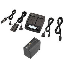 Sony AC Adapter / Twin Charger and NP-F970 Info-Lithium Battery Kit