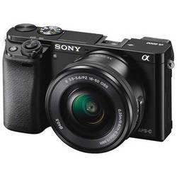 Sony Alpha a6000 Mirrorless Digital Camera with 16-50mm Lens (Black)