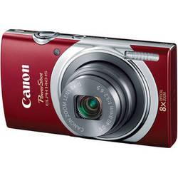 Canon PowerShot ELPH 140 IS Digital Camera (Red)