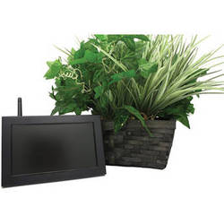 KJB Security Products SC7041 Xtreme Life Battery-Powered Plant Covert Camera with Quad LCD Receiver (NTSC/PAL)