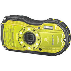 Ricoh WG-4 Digital Camera (Lime Yellow)
