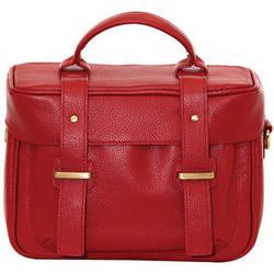 Jill-E Designs Juliette Leather Camera Bag (Red)