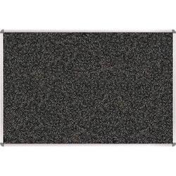 Best Rite 321RA-96 Rubber-Tak Tackboard (1.5 x 2', Black/Gray Speckled)