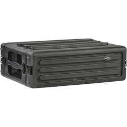 SKB 3U Roto Shallow Rack Case with Steel Rails
