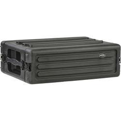 SKB 3U Roto Shallow Rack Case with Steel Rails