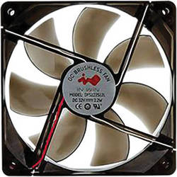 In Win 120mm Transparent Cooling Fan (Black)