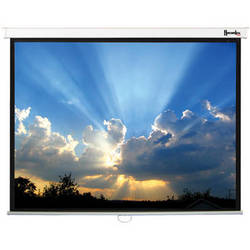 "Recordex USA ReTract Plus Premium Manual Wall/Ceiling Projector Screen (64 x 84"")"