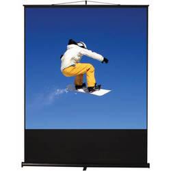 "Recordex USA Clarity FloorRise Portable Screen (59 x 78"")"