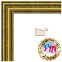 """ART TO FRAMES 4159 Gold Foil on Pine Photo Frame (8 x 8"""", Regular Glass)"""