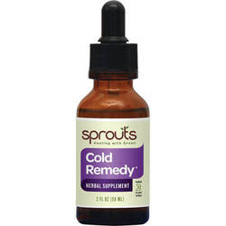 Sprouts Cold Remedy Herbal Supplement (2 oz)