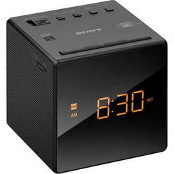 Sony Radio Alarm Clock (Black)