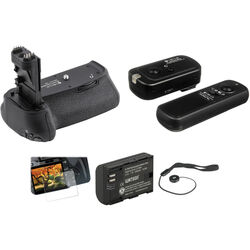 Vello Accessory Kit for Canon 70D & 80D DSLR Camera
