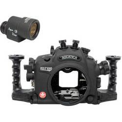 Aquatica AD7100/200 Underwater Housing for Nikon D7100 or D7200 with Aqua VF (Dual Nikonos Strobe Connectors)