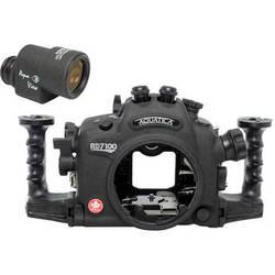 Aquatica AD7100/200 Underwater Housing for Nikon D7100 or D7200 with Aqua VF (Dual Optical Strobe Connectors)