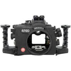 Aquatica A70D Underwater Housing for Canon EOS 70D (Dual Optical Strobe Connectors)