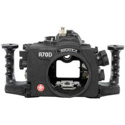 Aquatica A70D Underwater Housing for Canon EOS 70D (Ikelite Strobe Connector)
