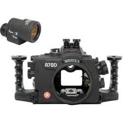 Aquatica A70D Underwater Housing for Canon EOS 70D with Aqua VF (Dual Nikonos Strobe Connectors)