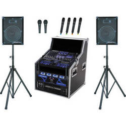 VocoPro CLUB-HD9500 Professional Club PA System (2000W)
