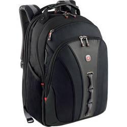 "SwissGear Legacy 16"" Computer Backpack (Black/Gray)"