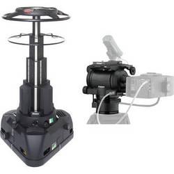 Vinten Quattro SE, VRI Box & Vector 430i Pan and Tilt Head System
