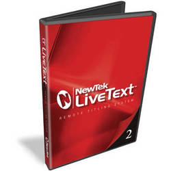 NewTek LiveText 2.5 with DataLink 3 (Educational License)