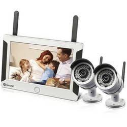 Swann NVW-470 All-in-One SwannSecure Wireless System with Two Cameras