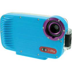 I-Torch iPix A4 Underwater Housing for iPhone 4 or 4s (Cyan Blue)