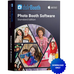 dslrBooth Standard Mac Edition Photo Booth Software (Download)