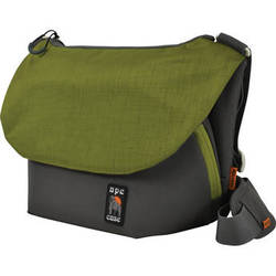 Ape Case Large Tech Messenger Case (Gray & Green)