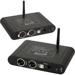 Elation Professional EWDMX System Transmitter and Receiver Package