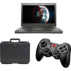 Aquabotix HydroView Topside Control Station with Lenovo ThinkPad X240 Laptop PC, Wireless Controller, and Case
