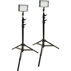 Bescor Field Pro FP-180K Bi-Color LED 2-Light Kit