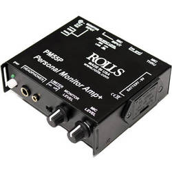 Rolls PM55P Stereo Personal Monitor Amplifier with Optical Limiter
