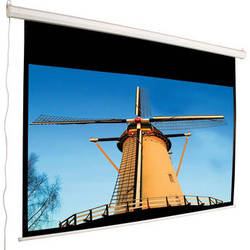 """Mustang SC-E135D169 Electric Projection Screen (123 x 80"""")"""