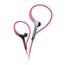 Sony MDR-AS400EX Active Series Sport Headphones (Pink)