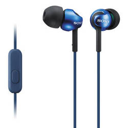 Sony MDR-EX110AP Monitor Headphones for Android Devices (Blue)