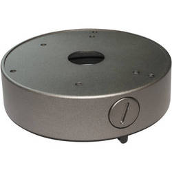 Speco Technologies JB03TG Dome Junction Box for Dome/Turret Cameras (Silver)