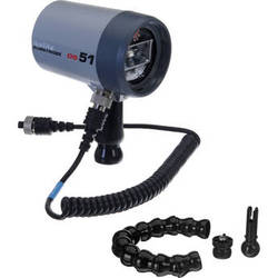 Ikelite DS51 Substrobe with Flex Arm and Sync Cord Package for Underwater Photography