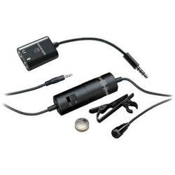 Audio-Technica ATR3350iS Omnidirectional Condenser Lavalier Microphone for Smartphones