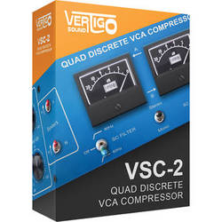 Vertigo Vertigo VSC-2 - Virtual VCA Compressor Plug-In (Download)