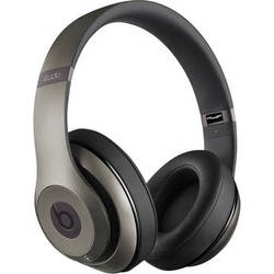 Beats by Dr. Dre Studio 2.0 Over-Ear Wired Headphones (Titanium)