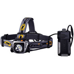 Fenix Flashlight HP30 LED Headlamp (Gray)