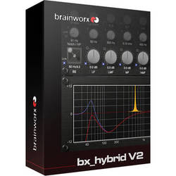 Brainworx bx_hybrid V2 - Mono and Stereo EQ Plug-Ins Bundle (Download)