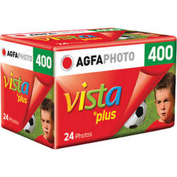 AgfaPhoto Vista plus 400 Color Negative Film (35mm Roll Film, 24 Exposures)