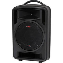 Galaxy Audio Traveler 10 AC/Battery Operated Portable PA System with Bluetooth, CD & MP3 Player, and Mic Receiver