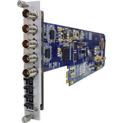 Gra-Vue XIO 9030HDEMB-4AUD-1U SDI 4-Channel Analog Audio Embedder