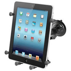 RAM MOUNTS Twist Lock Suction Cup Mount with Universal X-Grip III Holder