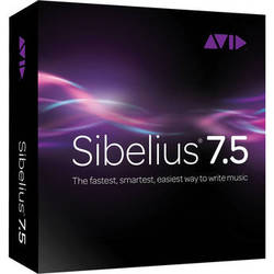 Sibelius Sibelius 7.5 + PhotoScore Ultimate + AudioScore Ultimate - Notation Software Bundle (Legacy Upgrade)