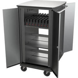 Balt iTeach High Capacity Rolling Charge Cart for 16 Tablets
