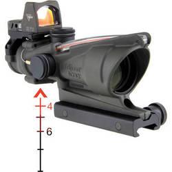 Trijicon ACOG 4x32 Illuminated BDC Reticle Riflescope w/Reflex Sight (OD Green)